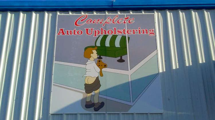 The Hog Ring - WTF Does this Upholstery Shop Sign Mean