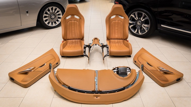 Buy a Bugatti Veyron Interior for $150,000