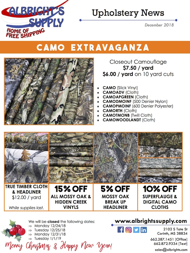 The Hogo Ring - Albrights Supply - Camo Extravaganza