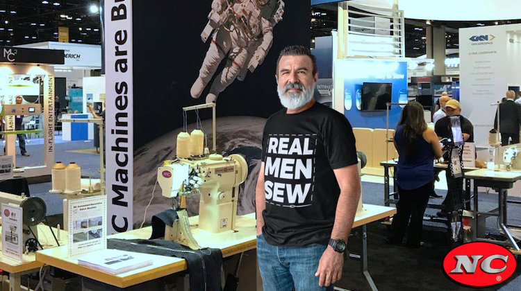 NC is Giving Away 'Real Men Sew' T-Shirts