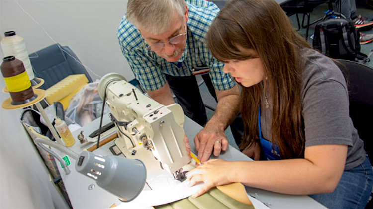 The Hog Ring - Auto Upholstery Summer Camp for Teens