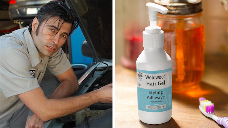 DAP Introduces Men's Weldwood Hair Gel