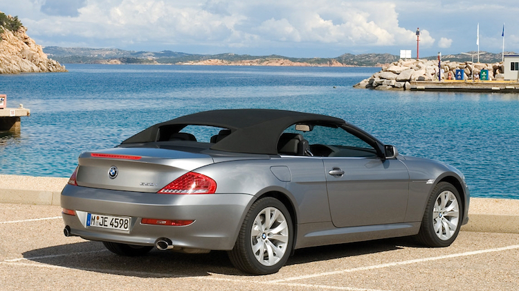 The Hog Ring - BMW 6-Series convertible