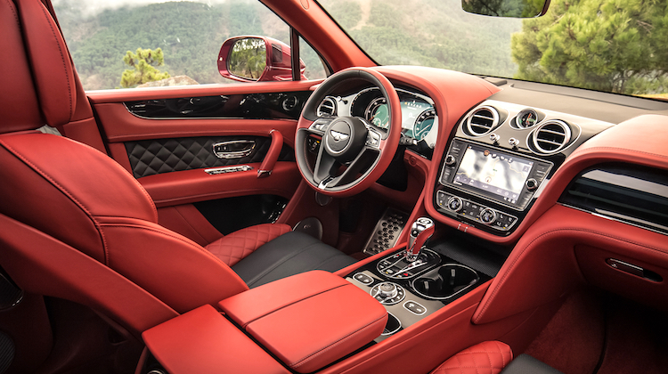 The Hog Ring - 12 Crazy facts about Bentley Interiors