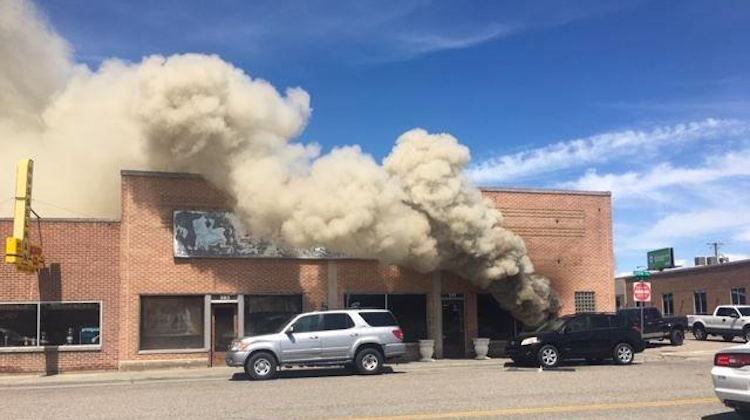 The Hog Ring - Explosion Destroys Auto Trim Shop in Idaho