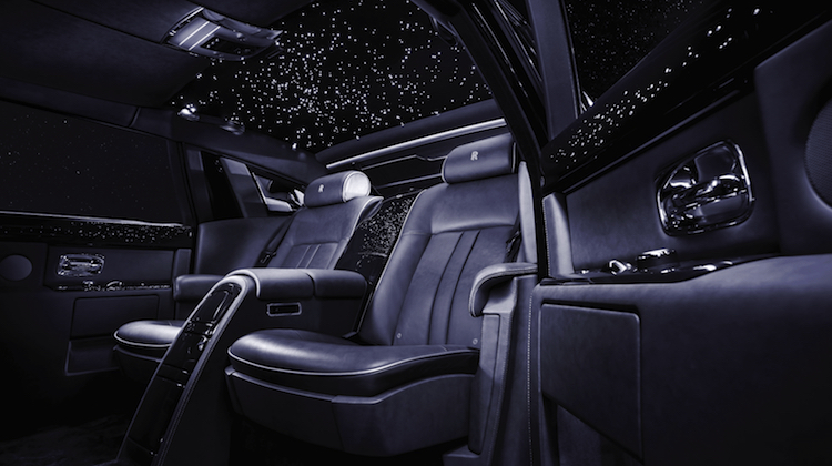 The Hog Ring - Rolls-Royce Got the Idea for the Starlight Headliner