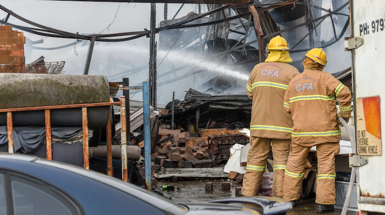The Hog Ring - Australian Trim Supply Destroyed in Fire