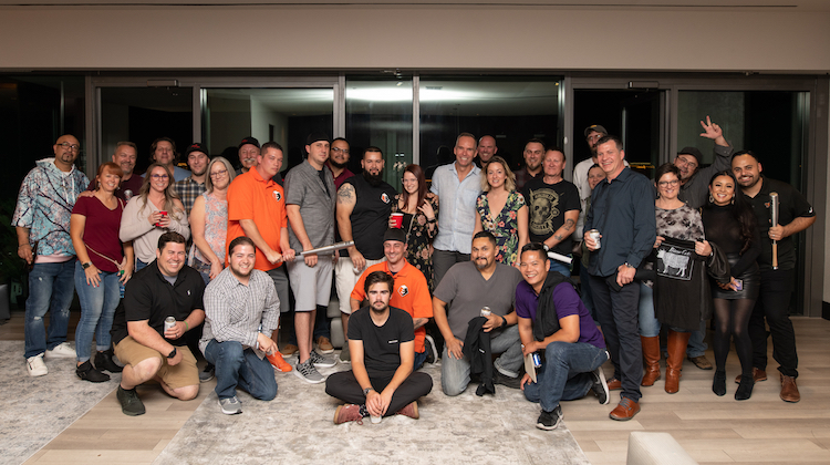 The Hog Ring - Hydes SEMA Party was a Huge Success