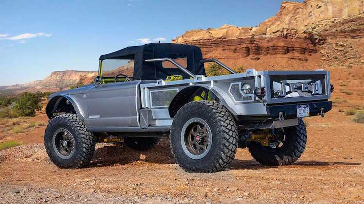 The Hog Ring - Jeep Displays Five Quarter Concept at SEMA 2