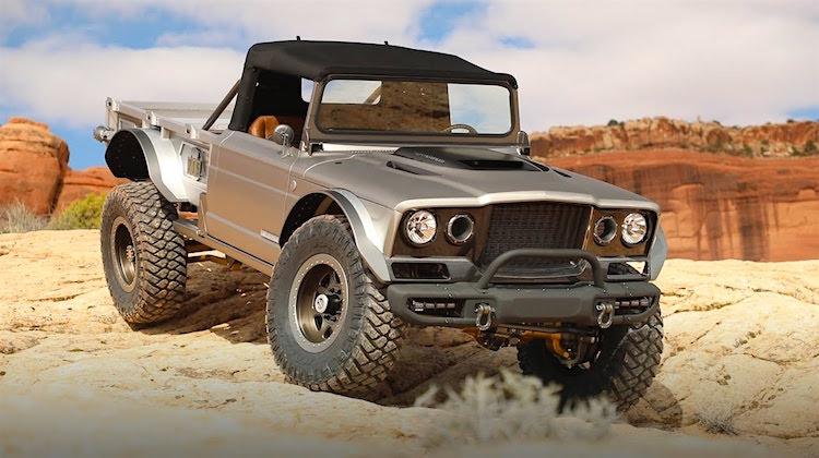 The Hog Ring - Jeep Displays Five Quarter Concept at SEMA