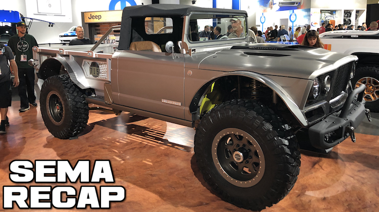 The Hog Ring - Jeep Displays Five Quarter Concept at SEMA