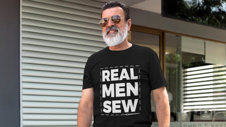 The Hog Ring - Real Men Sew Shirt