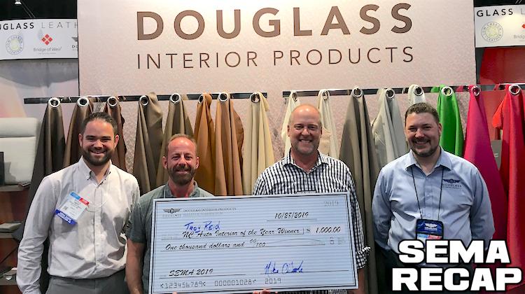 The Hog Ring - Trimmer Troy Reid wins Douglass SEMA Giveaway - SEMA Recap