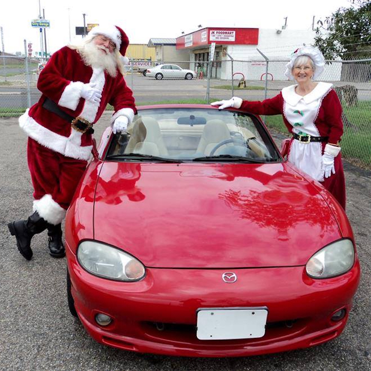 The Hog Ring - Christmas at Allens Auto Upholstery