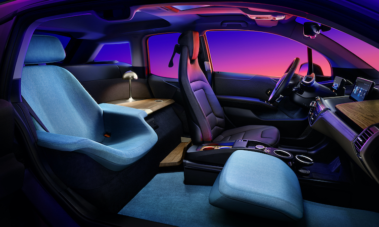 The Hog Ring - The BMW i3 Urban Suite is a Boutique Hotel on Wheels