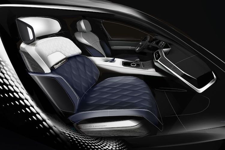 The Hog Ring - Checkout BMW New ZeroG Lounger Seat