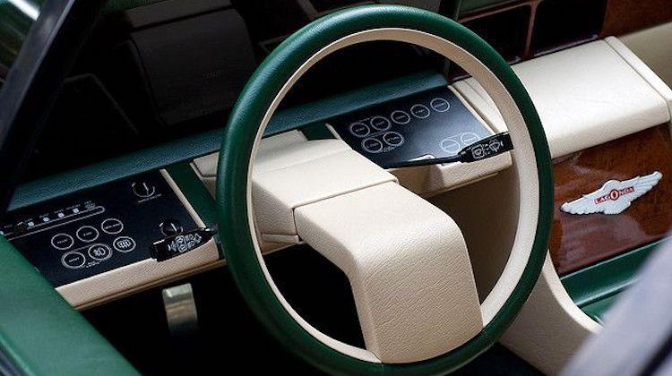 The Hog Ring - Aston Martin Lagonda steering wheel