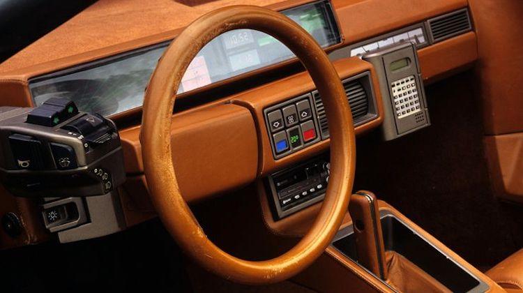 The Hog Ring - Bertone Lamborghini Athon steering wheel