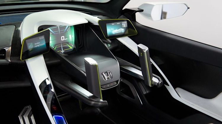 The Hog Ring - Honda EV-STER steering wheel