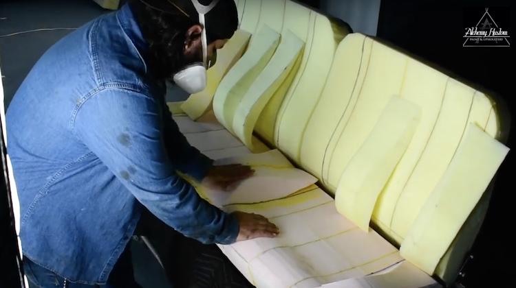 The Hog Ring - Watch Alchemy Kustom Shape Seat Foam