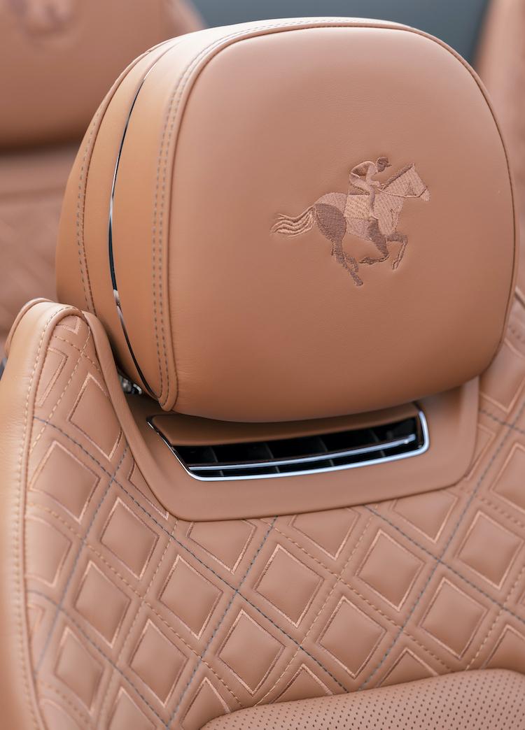 The Hog Ring - Bentley Triple Diamond Seats are Beautiful