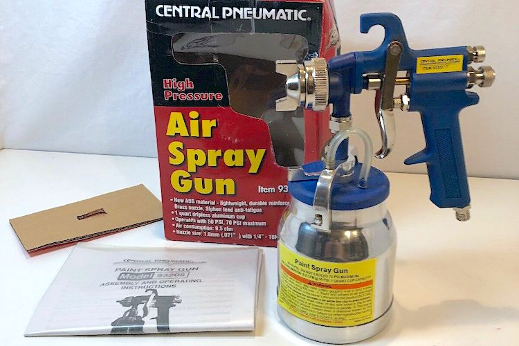 The Hog Ring - Harbor Freight Central Pneumatic Spray Gun