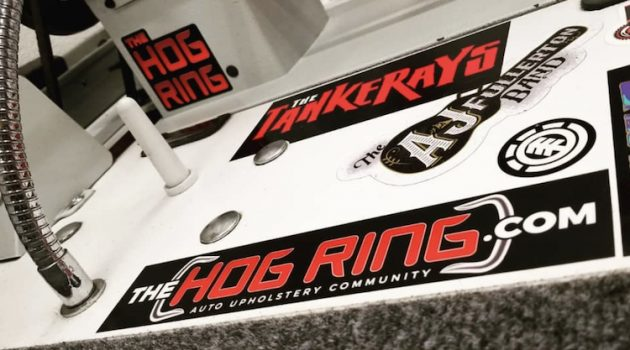 The Hog Ring - Want a Free Sticker from The Hog Ring