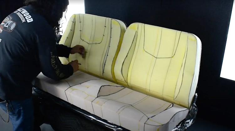 The Hog Ring - Watch Alchemy Kustom Upholster a Bench Seat
