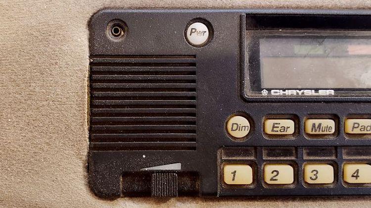 The Hog Ring - Who Remembers Chrysler VisorPhone
