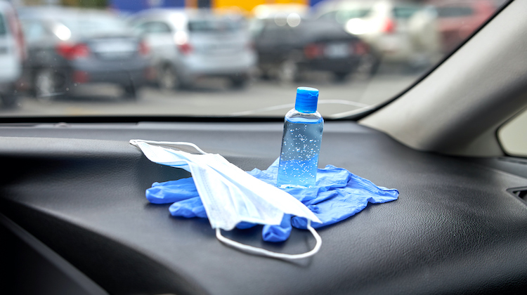 The Hog Ring - Hand Sanitizer Left on a Dashboard Can Cause a Fire
