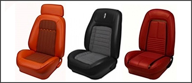 Muscle Car Seats With A Modern Twist, Aftermarket Muscle Car Seats
