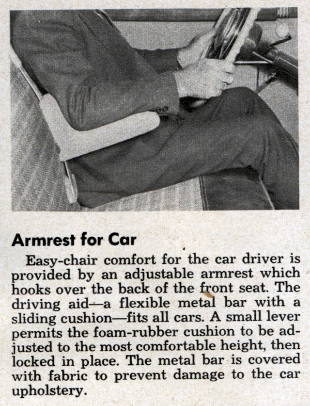 The Hog Ring - Auto Upholstery Community - Popular Science Vehicle Arm Rest