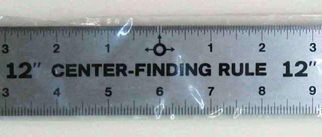 The Hog Ring - Auto Upholstery Community - Center Finder Ruler
