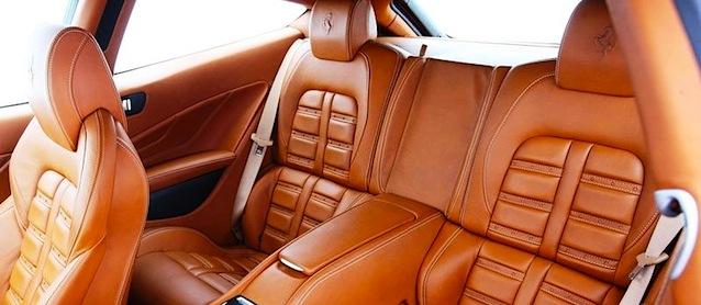Auto Upholstery - The Hog Ring - Ferrari FF Leather Interior