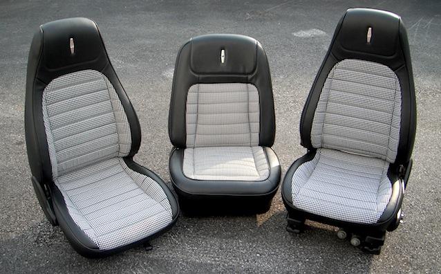 Auto Upholstery - The Hog Ring - Custom 1968 Camaro Seats - Naseem Muaddi