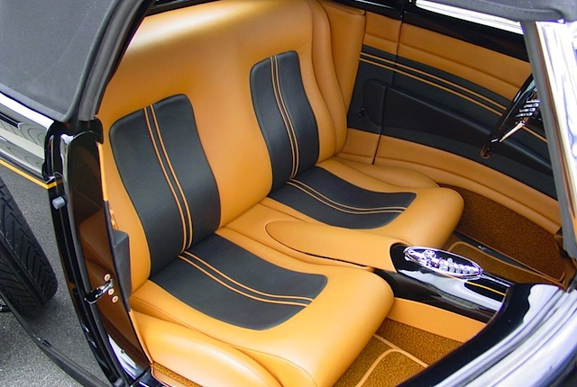 Auto Upholstery - The Hog Ring - M&M Hot Rod Interiors