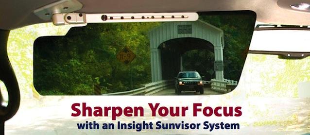 Auto Upholstery - The Hog Ring - Transparent Sun Visors