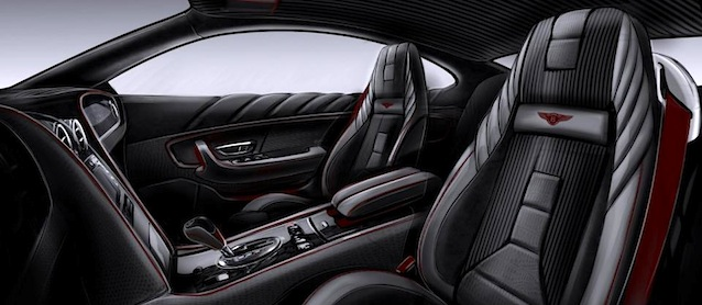 Auto Upholstery - The Hog Ring - Vilner Bentley Continental GT