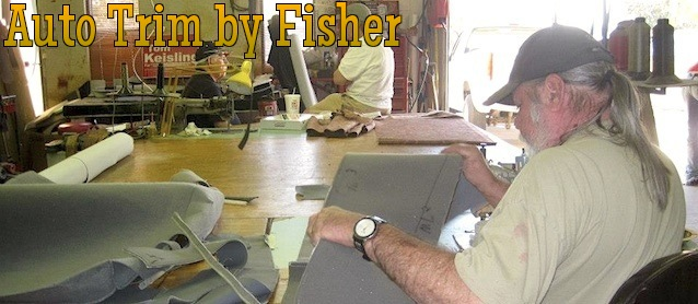 Auto Upholstery - The Hog Ring - Trim by Fisher