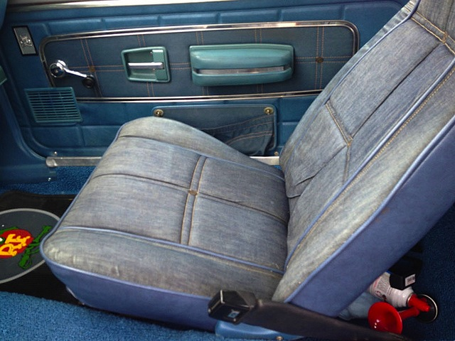 Auto Upholstery - The Hog Ring - Levis AMC Gremline