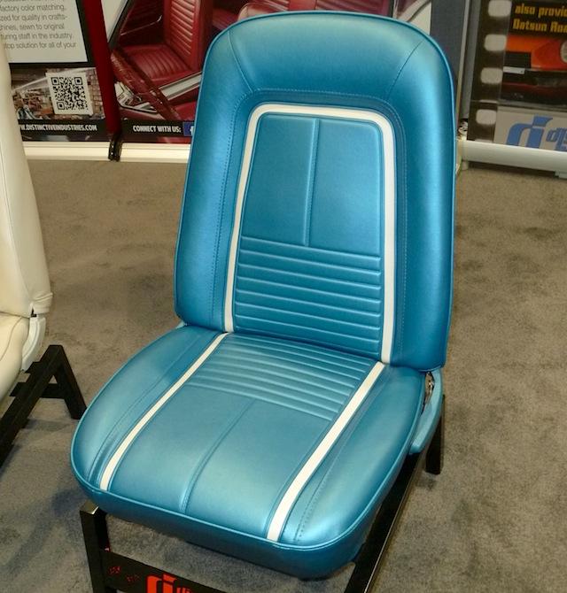 Auto Upholstery - The Hog Ring - SEMA 2013 Distinctive Industries