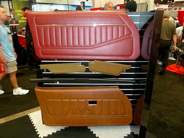 Auto Upholstery - The Hog Ring - SEMA 2013 Legendary Auto Interiors