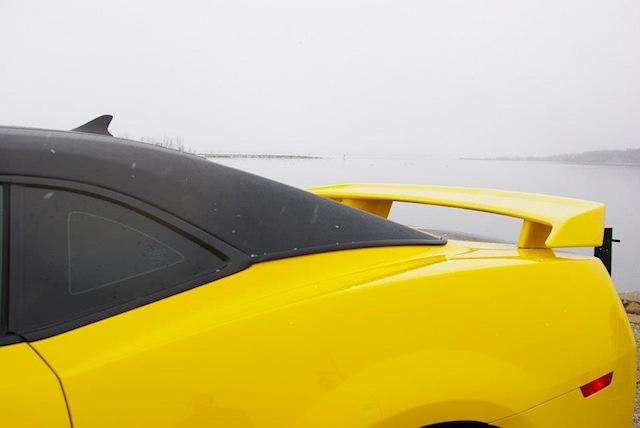 Auto Upholstery - The Hog Ring - 2013 Chevrolet Camaro Vinyl Top