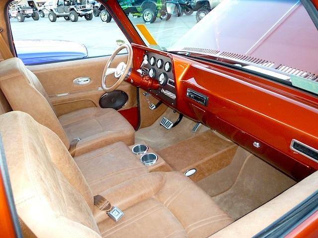Auto Upholstery - The Hog Ring - SEMA 2013 Custom Truck Interior