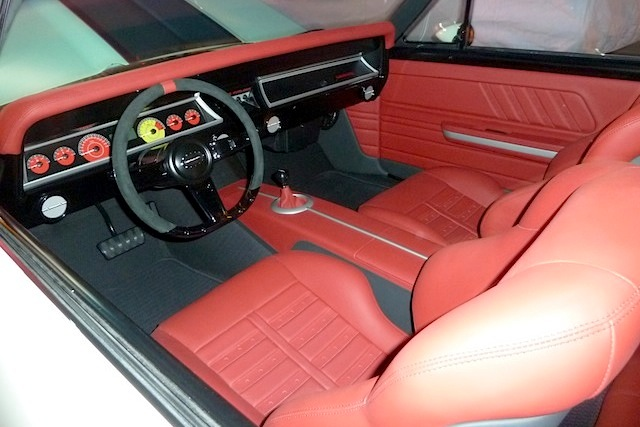 Auto Upholstery - The Hog Ring - M&M Hot Rod Interiors 1967 Chevelle