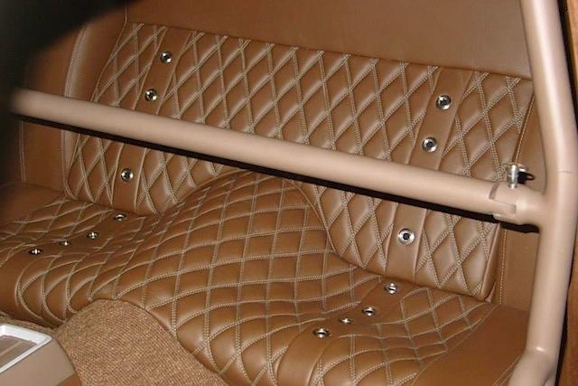 Auto Upholstery - The Hog Ring - M&M Hot Rod Interiors 1969 Valiant