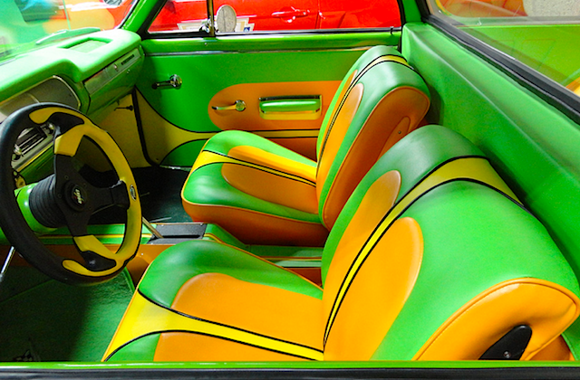Auto Upholstery - The Hog Ring - 1964 Chevrolet El Camino