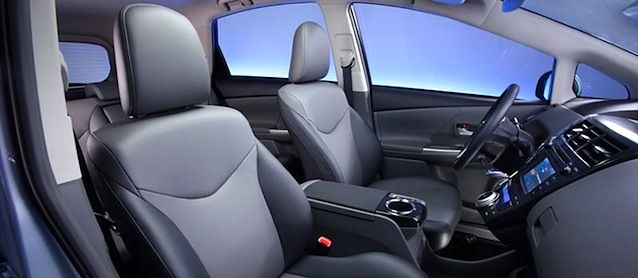 Auto Upholstery - The Hog Ring - 2012 Toyota Prius V