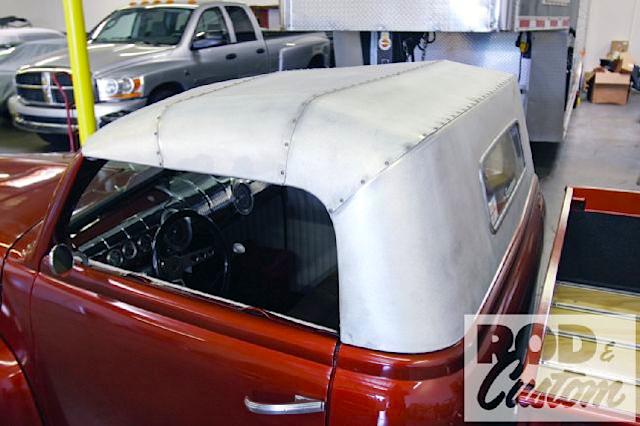 Auto Upholstery - The Hog Ring - Loyola Auto Interiors