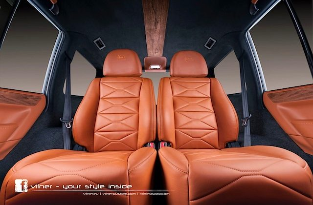 Auto Upholstery - The Hog Ring - Mitsubishi Pajero Vilner